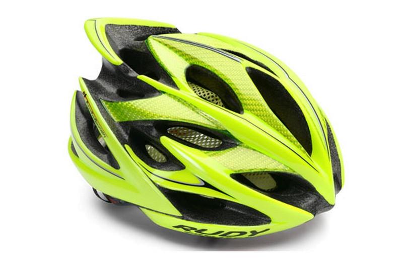 Casque Vélo de Route et VTT Rudy Project Windmax Jaune Fluo Noir Brillant b0c42a9dfea4
