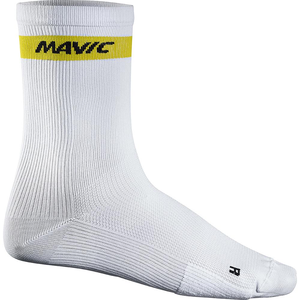 Mavic Noir//Blanc Cyclisme Chaussettes 8-11 entièrement neuf sans étiquette