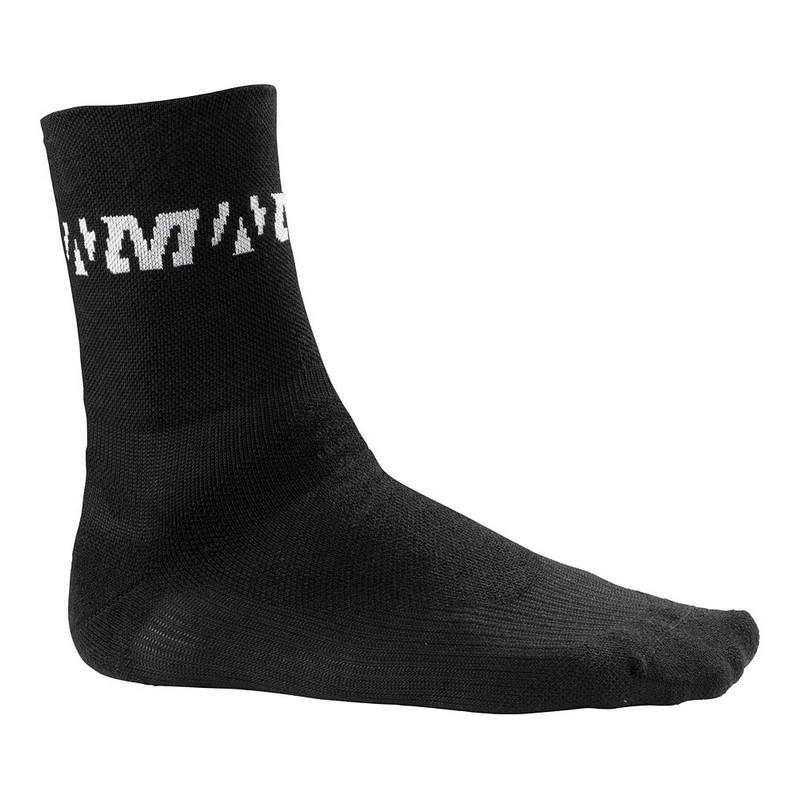chaussettes de v lo mavic thermo hiver noires dynamic v lo vente mavic en ligne. Black Bedroom Furniture Sets. Home Design Ideas