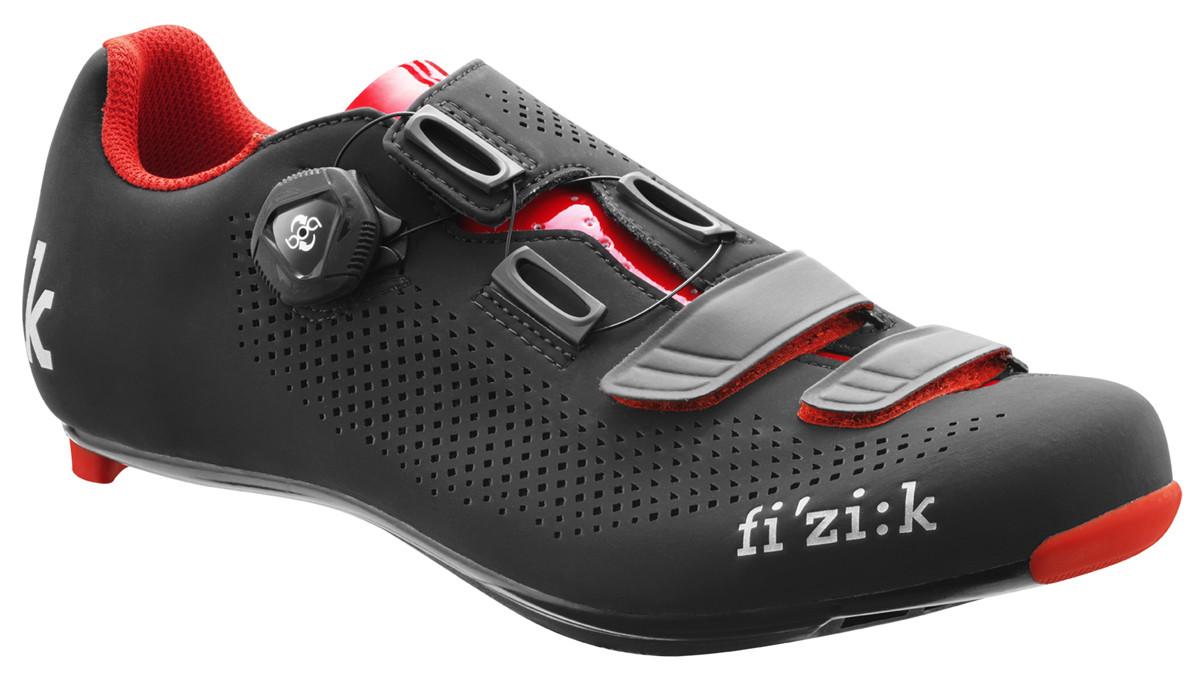 chaussures v lo de route fizik r4b uomo noir rouge dynamic v lo vente fizik en ligne. Black Bedroom Furniture Sets. Home Design Ideas