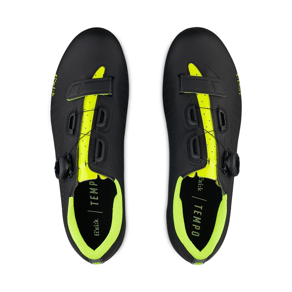 Chaussures Vélo Route Fizik Tempo Overcurve R5 Noir Jaune – Dynamic ... ff436406e877