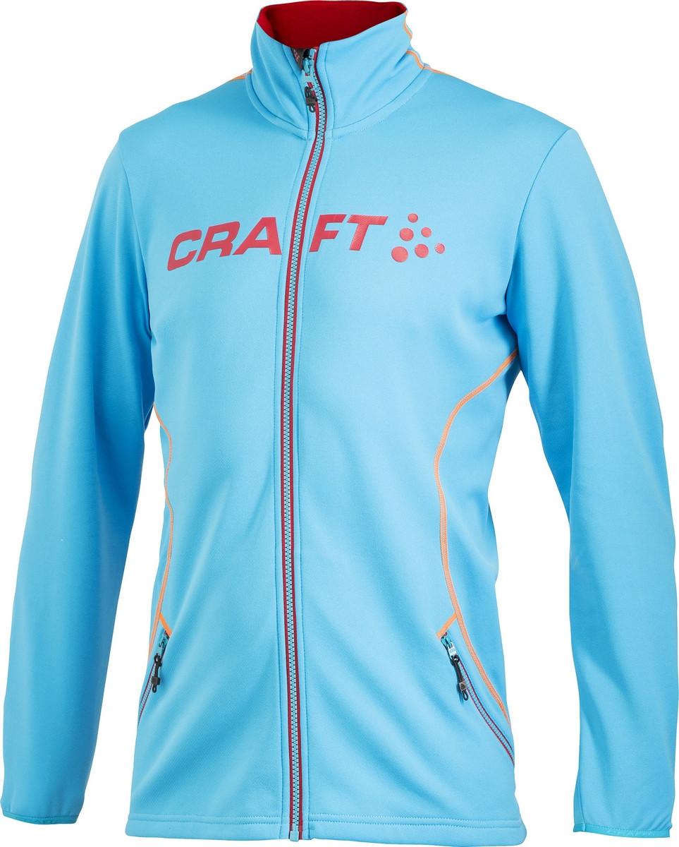 Veste Veste Zip Logo Craft Craft Craft Homme Sportwear Bleu Full q8vSq