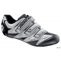 Gaerne Avia Paire de chaussures vélo de route Blanc/Anthracite