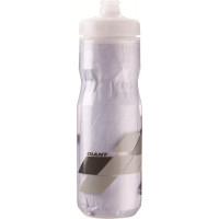 Bidon vélo isotherme Giant Fast Evercool 600 ml blanc gris