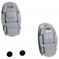 Boucle Micrometrique Pour chaussure Vélo Sidi Blanche X2