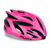 Casque Vélo de Route et VTT Rudy Project Rush Rose Fluo