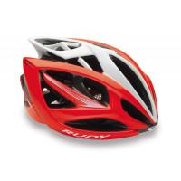 Casque Vélo de Route et VTT Rudy Project Airstorm Red Fluo White