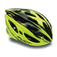 Casque Vélo de Route et VTT Rudy Project Zumax Jaune Fluo Noir