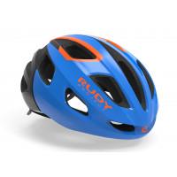 Casque Vélo de Route et VTT Rudy Project Strym Bleu Orange Brillant