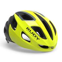 Casque Vélo de Route et VTT Rudy Project Strym Jaune Fluo Brillant