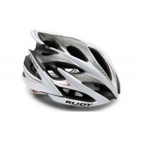 Casque Vélo de Route et VTT Rudy Project Windmax Blanc Argent Brillant