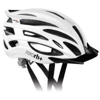 Casque Vélo de Route et VTT Zero Rh 2 in 1 Blanc brillant