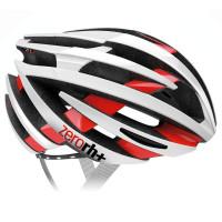 Casque Vélo de Route Zero Rh ZY 2015 Blanc Rouge Brillant