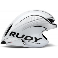 Casque Vélo Profilé Rudy Project Wing 57 Blanc et Argent