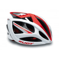 Casque Vélo de Route et VTT Rudy Project Airstorm Blanc Rouge