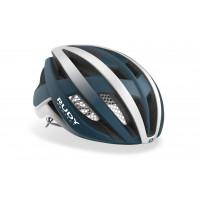 Casque Vélo de Route Rudy Project Venger Bleu Pacifique Blanc Mat