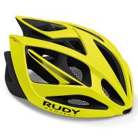 Casque Vélo de Route et VTT Rudy Project Airstorm Jaune Fluo Mat