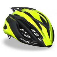 Casque Vélo de Route et VTT Rudy Project Racemaster Jaune Fluo Noir