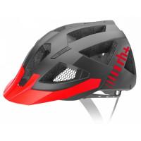 Casque Vélo VTT Zero Rh Black Combo Gris Rouge