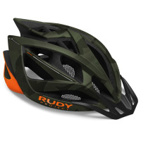 Casque VTT Rudy Project Airstorm MTB Vert Olive Orange Camouflage