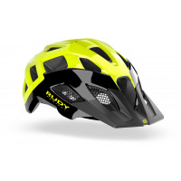 Casque VTT Rudy Project Crossway Noir Jaune Brillant