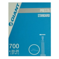 Chambre à air vélo route Giant Butyl 700 x 20-25 Presta 60mm