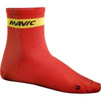 Chaussettes de vélo Mavic Cosmic Medium Rouges