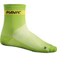 Chaussettes de vélo Mavic Cosmic Medium Vertes