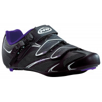Chaussures vélo route NorthWave Starlight SRS Dame noir