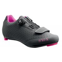 Chaussures Vélo de Route Fizik R5B Donna Anthracite Gris
