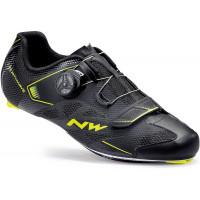 Chaussures vélo route NorthWave Sonic 2 Plus noir jaune