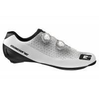 Chaussures Vélo de Route Gaerne G Chrono Carbone Blanc Noir