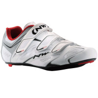 Chaussures vélo route NorthWave Sonic 3S 2015 blanc argent