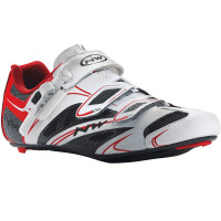 Chaussures vélo route NorthWave Sonic SRS blanc rouge