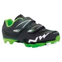 Chaussures vélo VTT NorthWave Hammer Junior Noir Vert