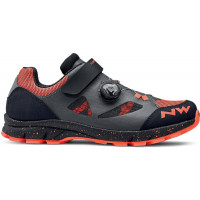 Chaussures vélo VTT Dame NorthWave Terrea Women Anthracite Orange