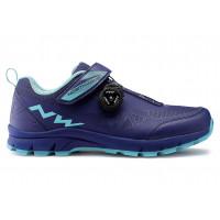 Chaussures vélo VTT Dame NorthWave Corsair Women Bleu Aqua