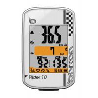 Compteur GPS Vélo de route et VTT Bryton Rider 10 blanc