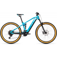 Velo VTT Electrique Cube Stereo 120 HPA Pro 29 Bosch 625Wh Bleu 2021 T.16