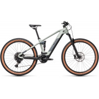 Velo VTT Electrique Cube Stereo 120 HPA Pro 29 Bosch 625Wh Gris 2021 T.16
