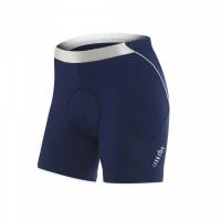 Cuissard de vélo Zero Rh Fusion W Shorts Dame bleu blanc