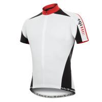 Zero RH Leader Jersey Maillot Vélo Course  Noir/Blanc/Rouge