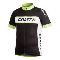 Craft Active Logo Maillot Vélo de Route et VTT Noir