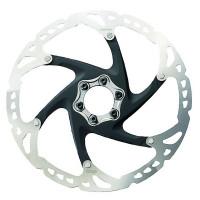 Disque de frein Vélo VTT Shimano XT RT76 6 trous 160mm