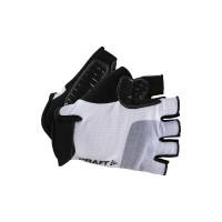 Gants de Vélo Craft Go Mitaines Blanc Noir