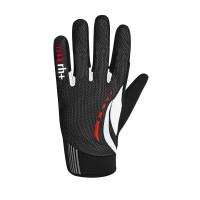 Gants vélo de route Zero Rh Ride Glove hiver noir Blanc