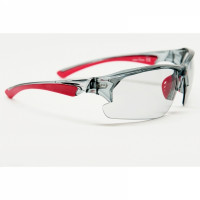 Lunettes Vélo Multisports RPJ Tracer Crystal ASH Rouge Photochromic
