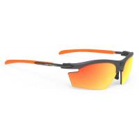 Lunettes Vélo Rudy project Rydon Graphite Multicolor Orange