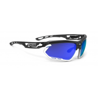 Lunettes Vélo Rudy project Fotonyk Crystal Grahite Multilaser Bleu