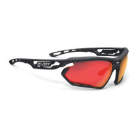 Lunettes Vélo Rudy project Fotonyk Carbonium Multilaser Red